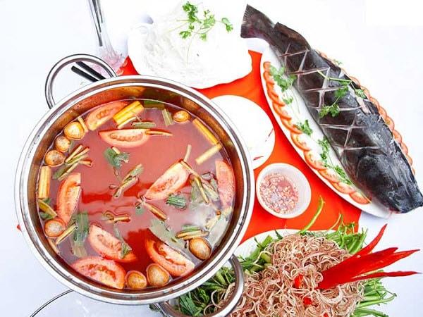 Cách nấu lẩu cá lăng măng chua ngon đơn giản tại nhà