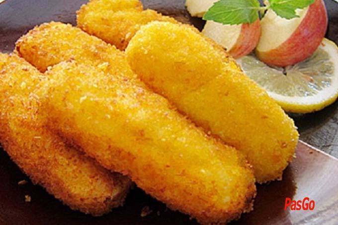 Cách làm bánh khoai tây chiên giòn ngon thơm béo ngậy với sữa tươi