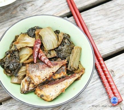 Cách làm món cá nục kho dưa cải chua thơm ngon đảm bảo ăn rất hao cơm