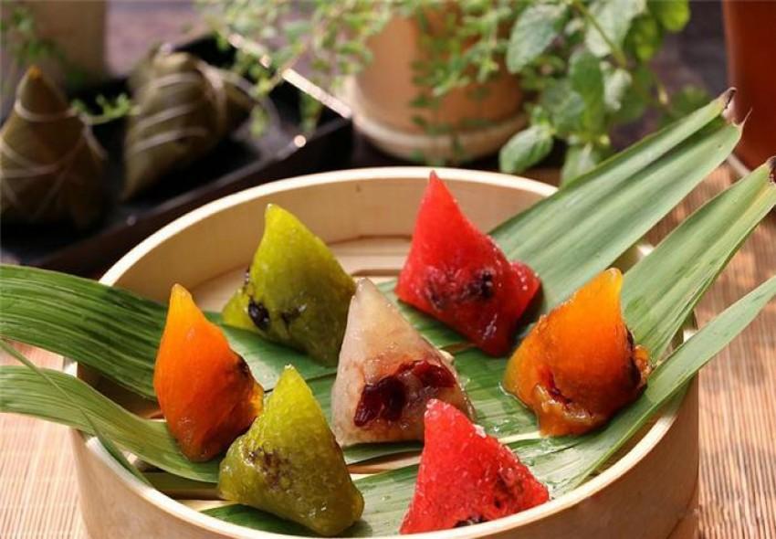 Bánh gạo nhân hoa quả dẻo ngon xinh xinh