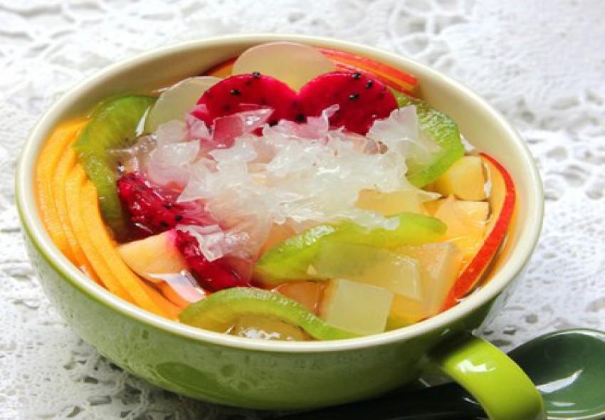 Chè trái cây ngon mát ngày hè