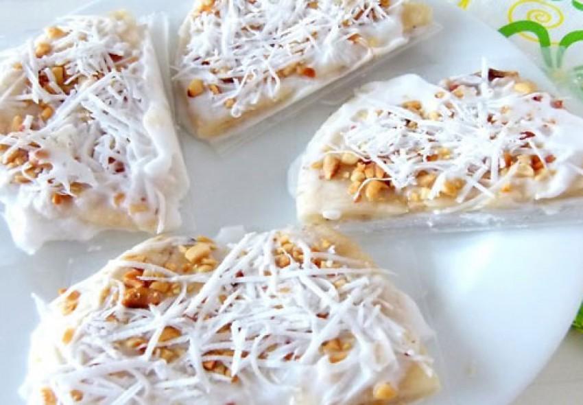 Kem chuối dừa ngon mát lạnh