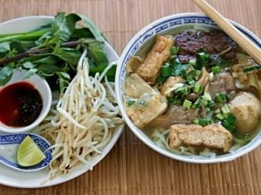 Phở chay thanh ngọt