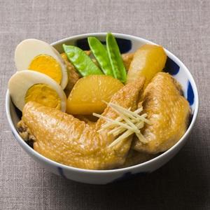 Cánh gà nấu củ cải trắng